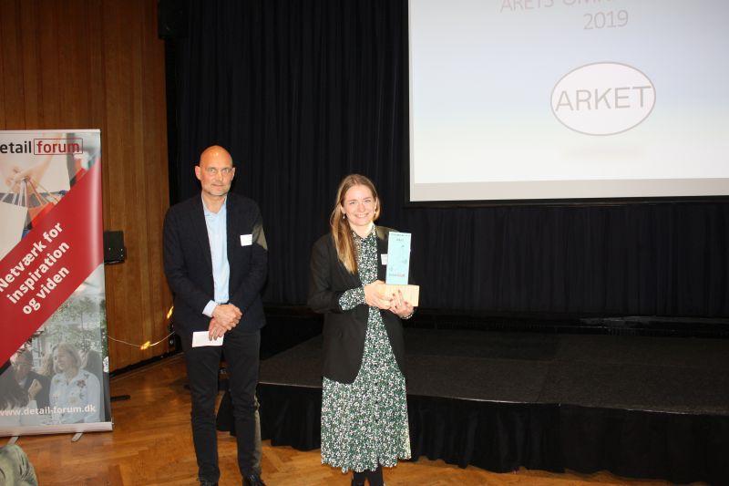 Arket vandt Omnichannel prisen 2019