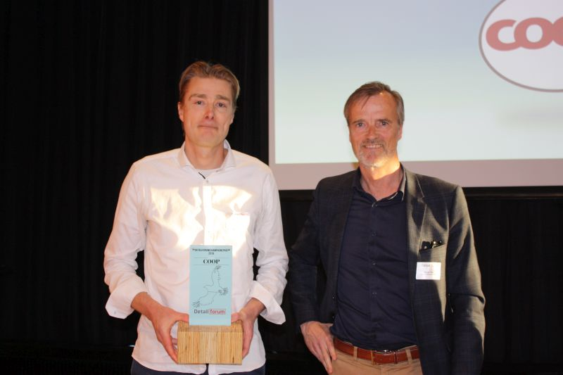 Coop vandt Detailforums Kampagnepris for deres kampagne NyKemilov.nu