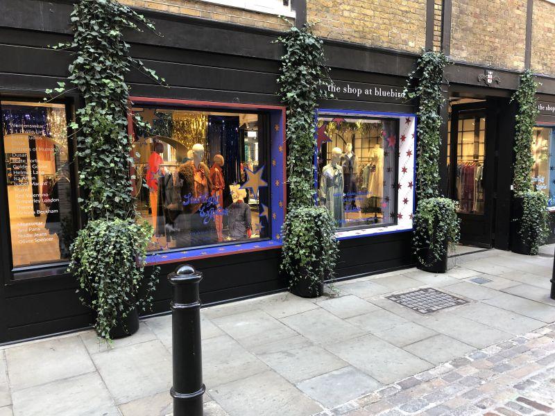 The shop at bluebird, Covent Garden