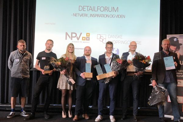 Vinderne til Detailforum Awards 2020
